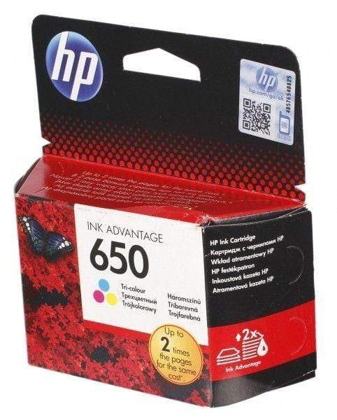 HP CZ102AE 650 Tri-Color Ink Advantage Cartridge