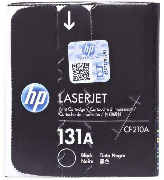 HP Toner Cartridge - 131A, Black