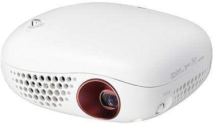 LG Mini Infibeam Projector - PV150G, White