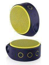 Logitech X100 Mini Bluetooth Speaker Recharable (Yellow)