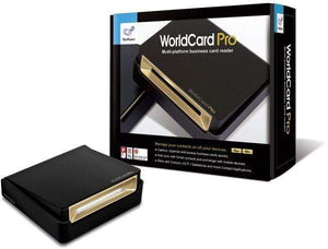PenPower WorldCard Pro V8 Card Scanner, English