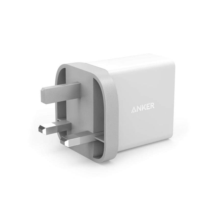 Anker 24W 2-Port USB Charger UK and PowerIQ Technology