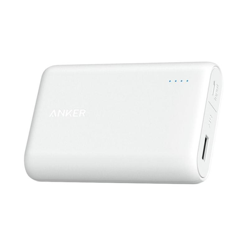 Anker PowerCore 10000 mAh Portable Charger Black or White