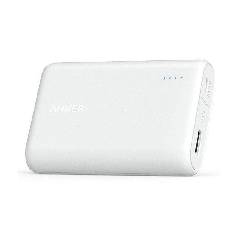 Anker PowerCore 10000 mAh Portable Charger White