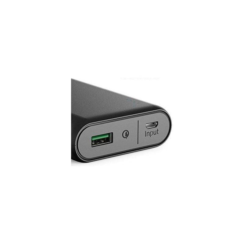 Anker PowerCore 10000 with Quick Charge 3.0 For Samsung, iPhone, iPad and more Compact Power Bank