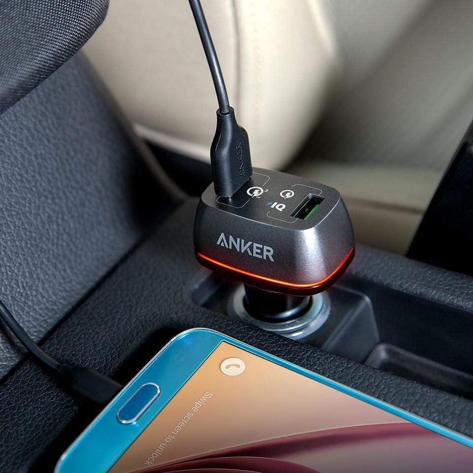 Anker PowerDrive+ 2 Ports USB Charger - A2224H12 & A2224H21