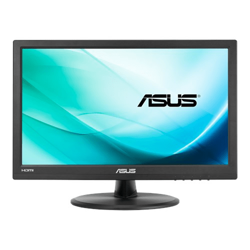ASUS 15.6 LED VT168H LED Monitor touch Low Blue Light Black