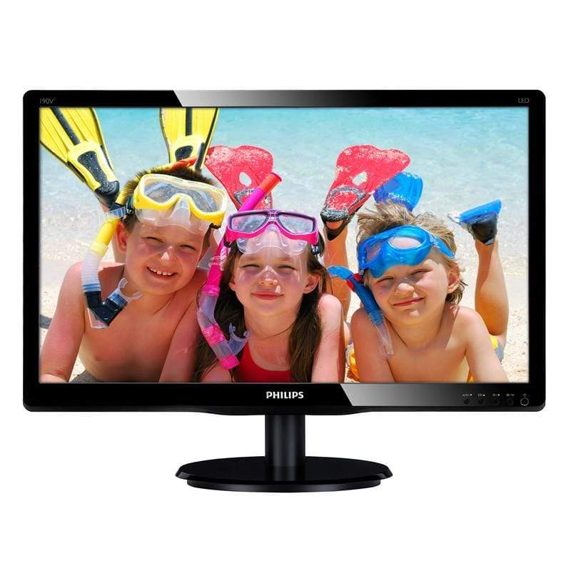 Philips 18.5 Inch LCD/LED Desktop Monitor For PC/Computer - 193v5
