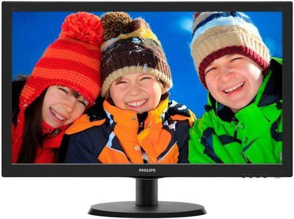"Philips 21.5"" LED Monitor, Black [223V5LSB/00]"