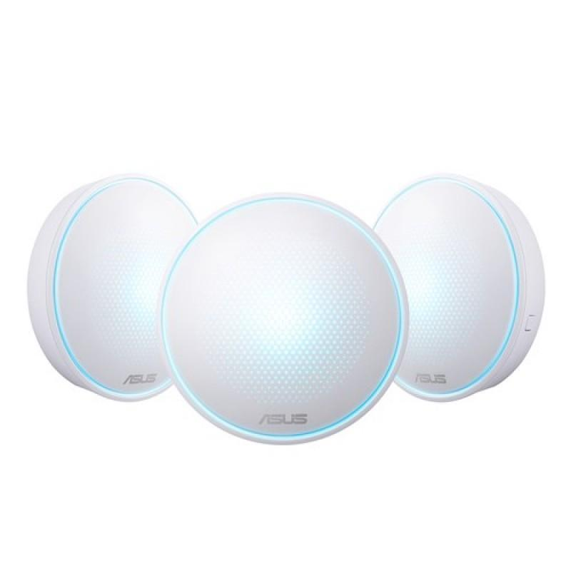 ASUS Lyra Home Wi-Fi System, Pack of 3 Tri-Band Mesh Networking