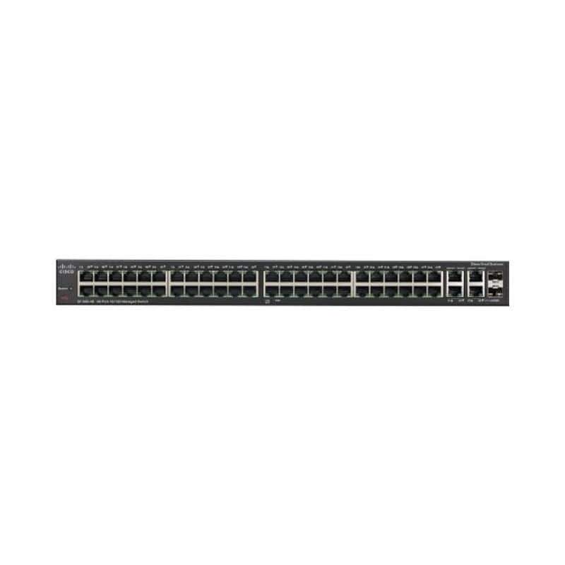 Cisco SF300-48PP 48-port 10/100 PoE+ Managed Switch with Gig Uplinks