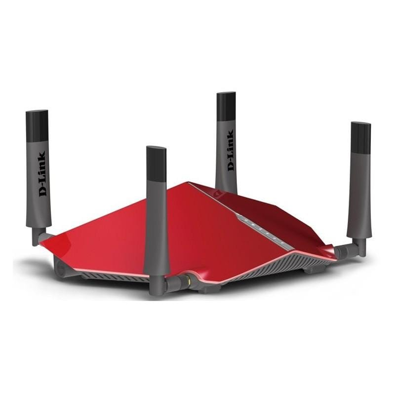 D-Link AC3150 Dual-Band Ultra Wi-Fi Router, Red - DIR885L