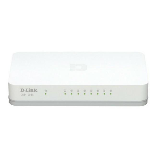 D-Link DGS-1008A 8-Port Gigabit Desktop Switch
