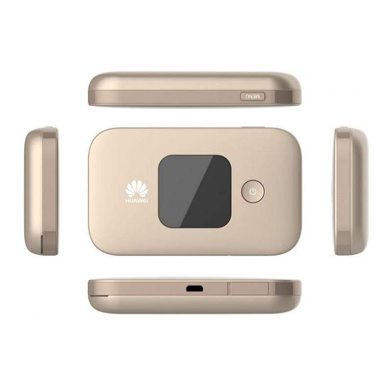 HUAWEI 4G LTE WiFi Portable Router E5577s Golden with 1 Yr. Warranty