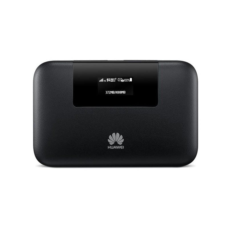 Huawei E5770 Mobile WiFi Pro with Lan RJ45 - 5200 mAh, 4G LTE, Black