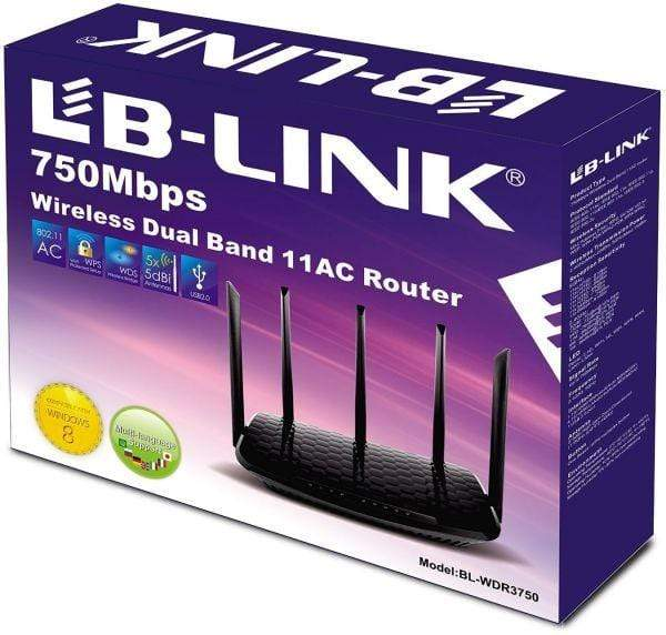 LB-Link BL-WDR3750 750Mbps Dual Band 11AC Router