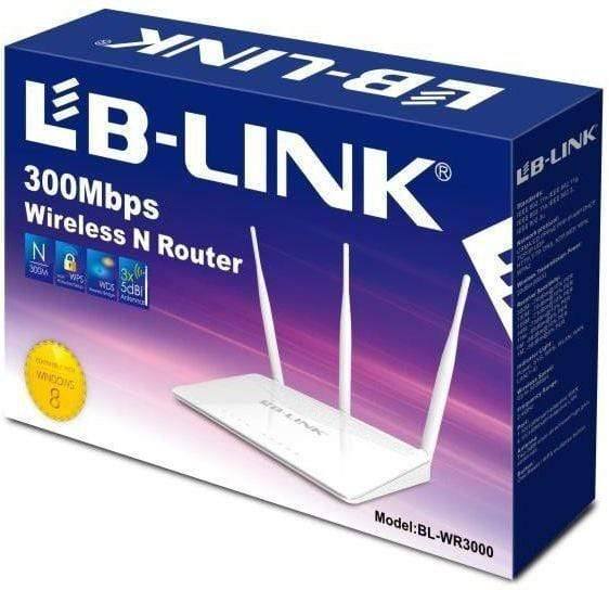 LB-Link BL-WR3000 300Mbps Wireless N Router