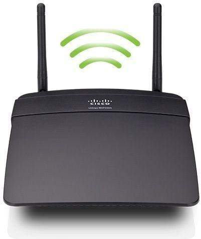 Linksys WAP300 N Dual Band Access Point, Media Connector