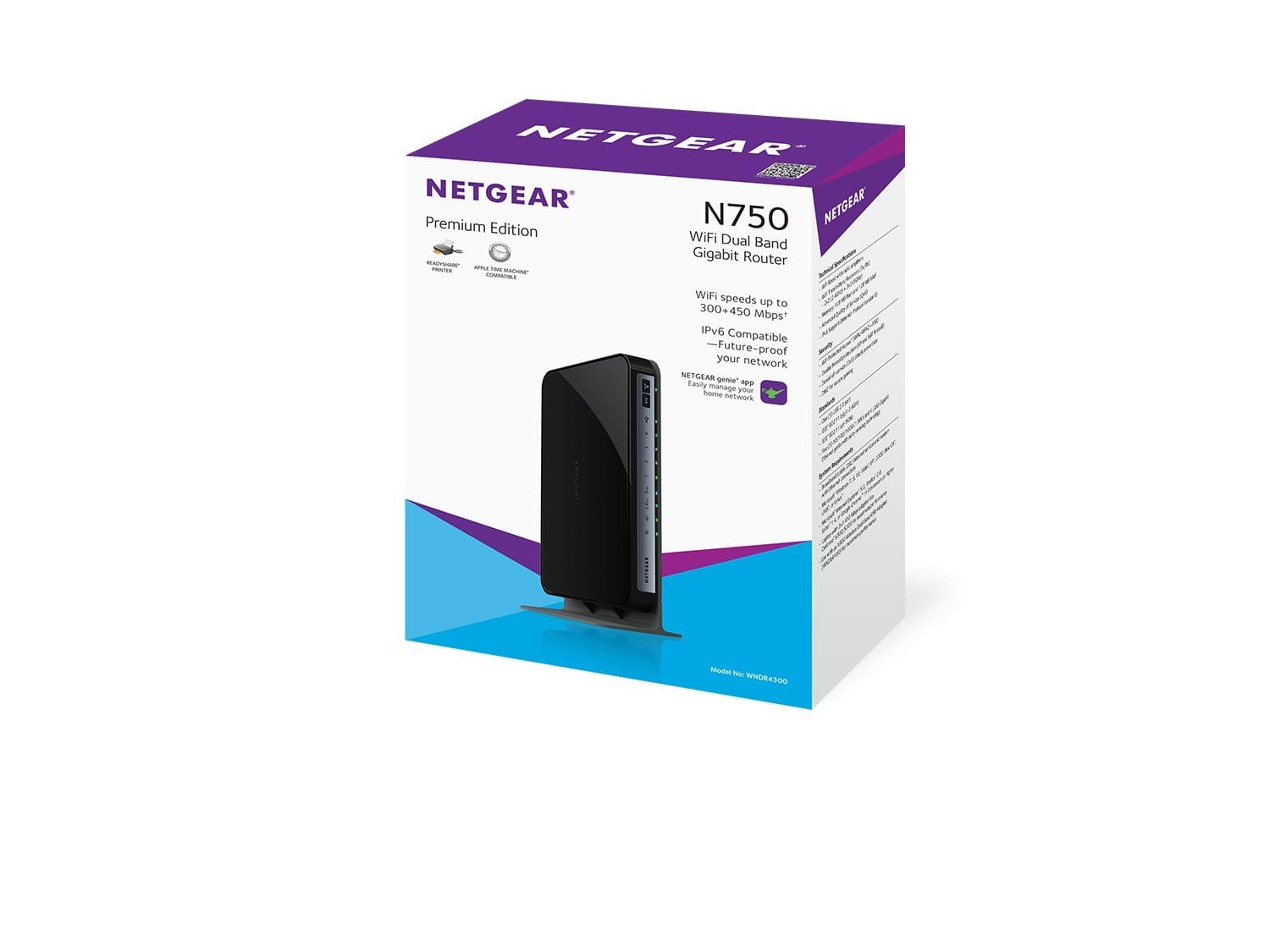 Netgear Dual Band N750 AC  Wifi Router