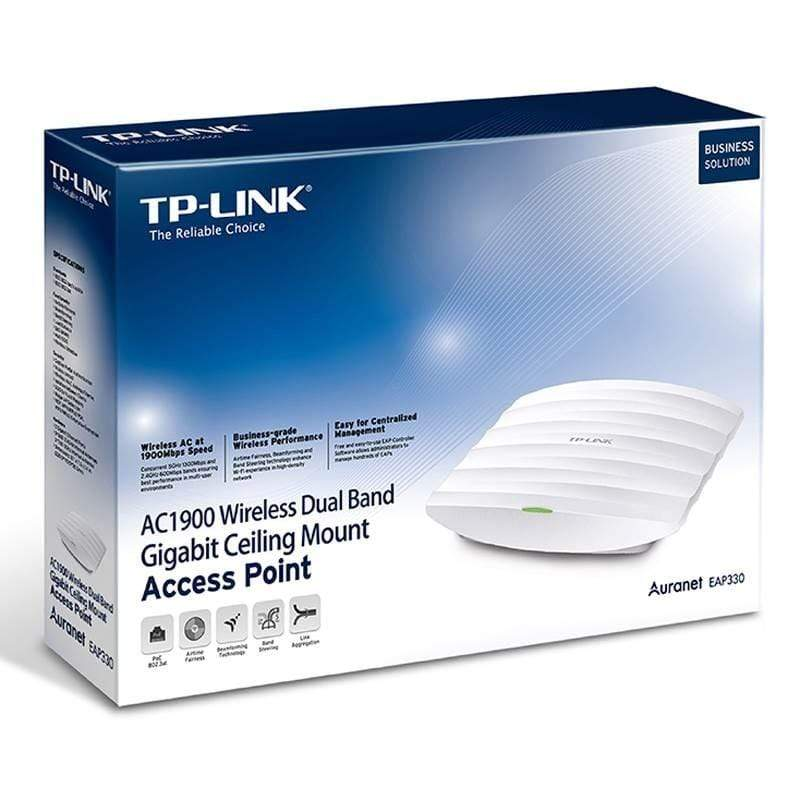 TP-Link EAP330-AC1900 Wireless Gigabit Ceiling Mount Access Point