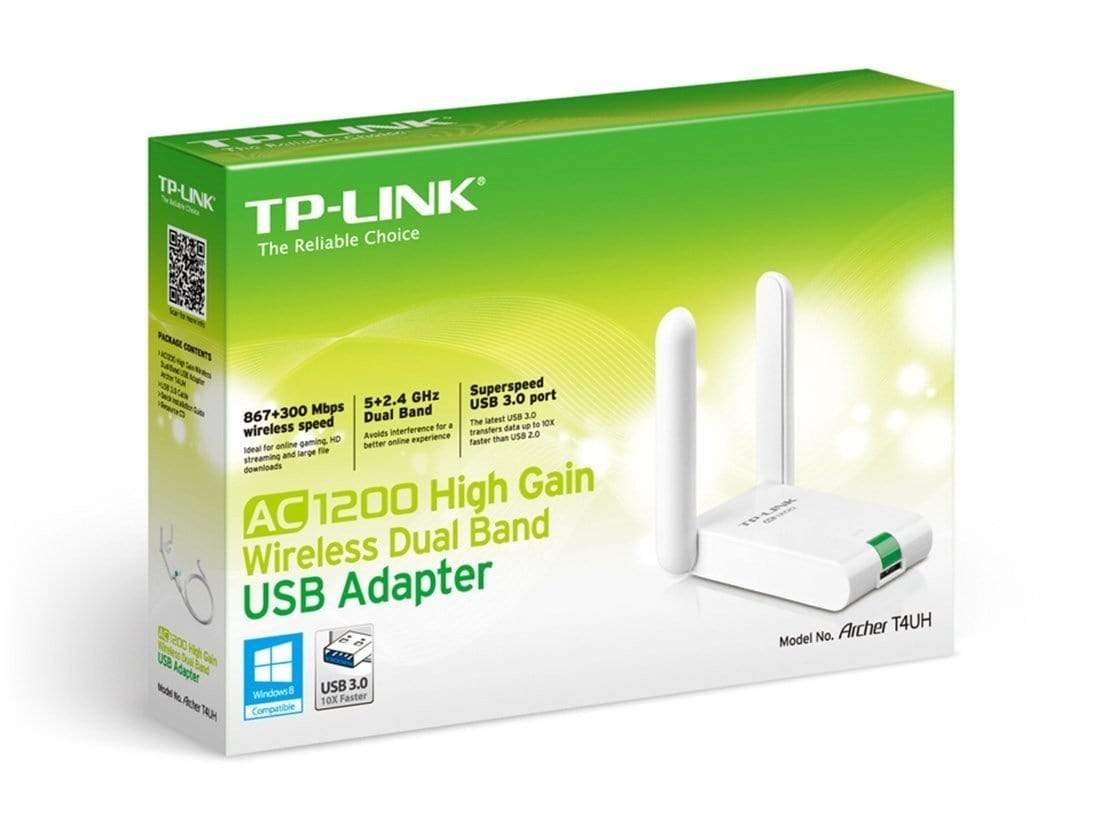TP-Link T4UH AC1200 High Gain Wireless Dual Band USB Adapter