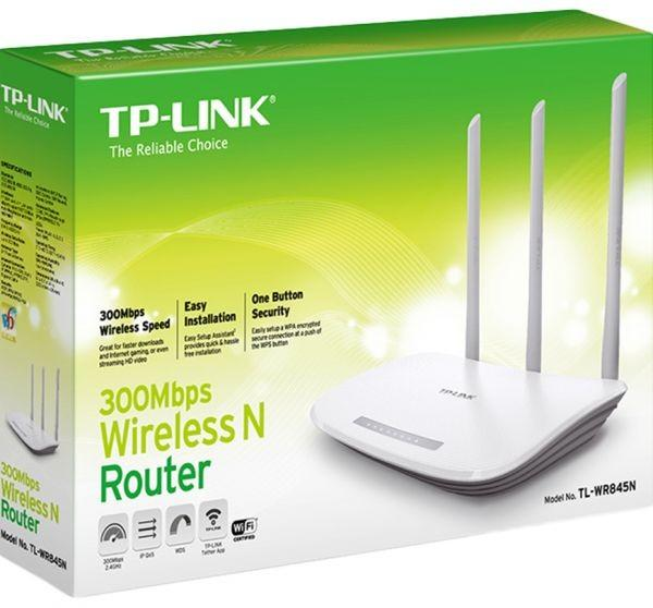 TP-Link TL-WR845N Upto 300 Mbps Wireless N Router