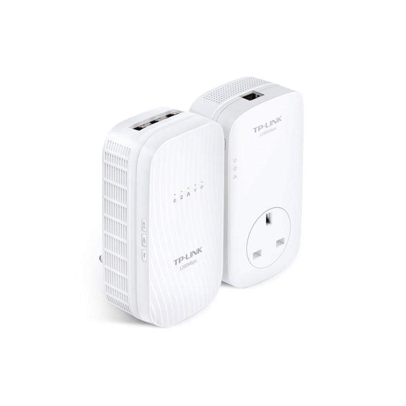 TP LINK-WPA8730 KIT-AV1200 Gigabit Powerline ac Wi-Fi Kit