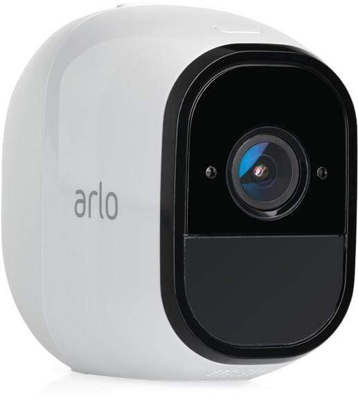 Arlo Pro Security System with Siren – 2 Rechargeable Wire-Free HD Cameras with Audio, Indoor/Outdoor, Night Vision (VMS4230)