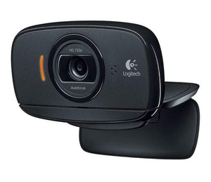 Logitech Webcam HD-C525 720p HD Black