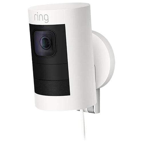 Ring Stick Up Cam Battery-powered indoor/outdoor camera with two-way talk