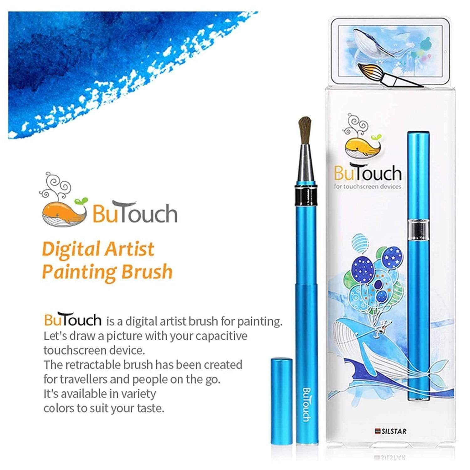 Silstar Butouch Digital Artist Brush