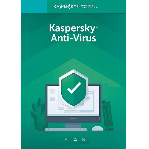 Kaspersky Anti-Virus 2019-1 PC For 1 Yr.