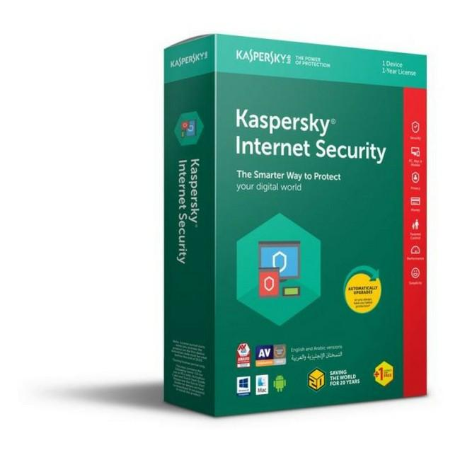 Kaspersky Internet Security Multi-Device 2018 3 Plus One User