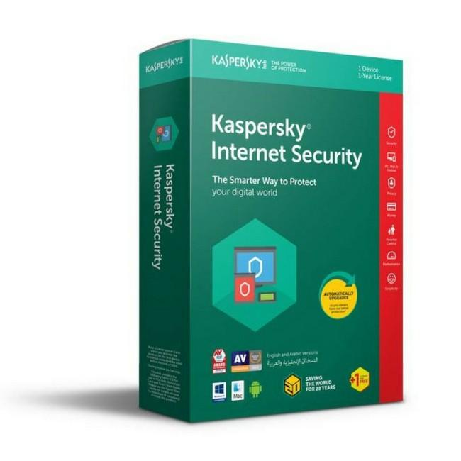Kaspersky Internet Security Multi-Device 2018 One Plus One User