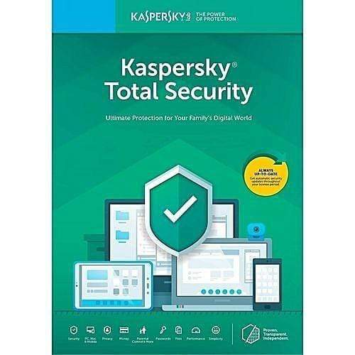 Kaspersky Total Security 2019 -4 PC For 1 Yr.