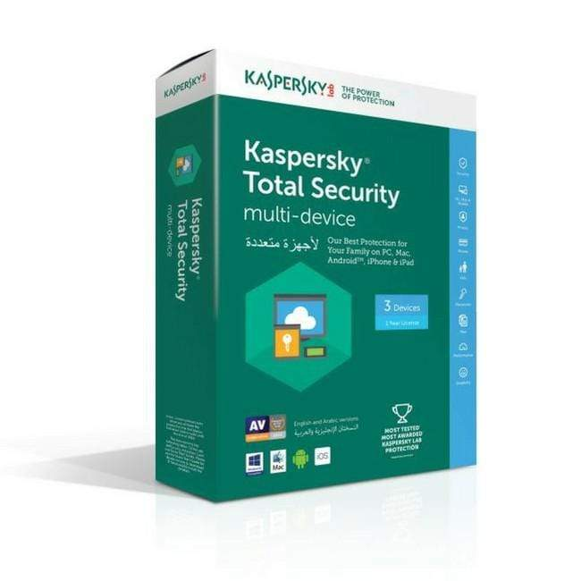 Kaspersky Total Security Multi Device - 3 User