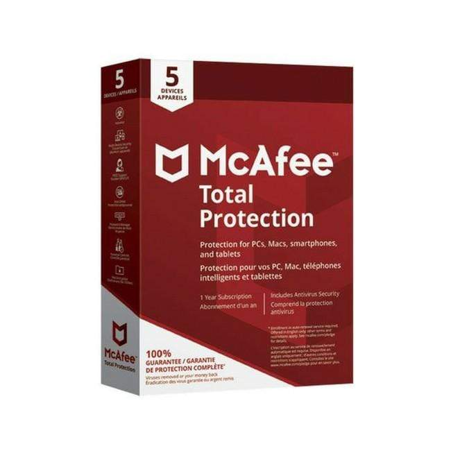 Mcafee Total Protection - 5 Users 2020