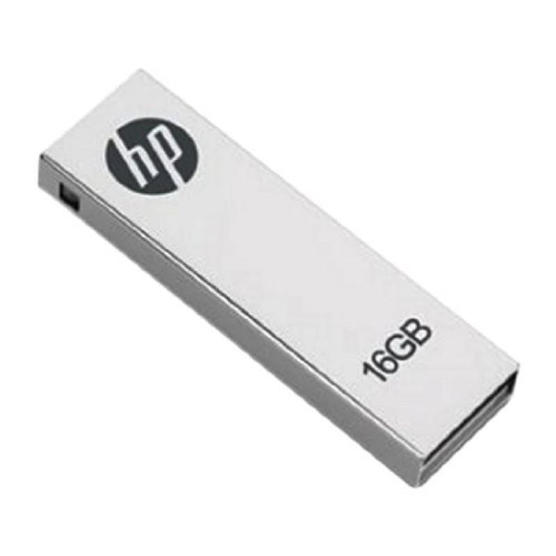 HP v210 16GB Metal Design USB Flash Drive with Clip