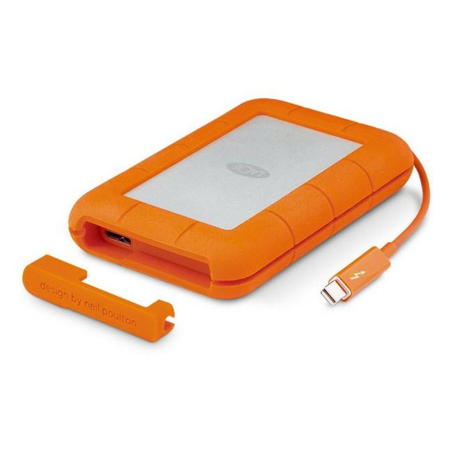 Lacie 1TB Rugged Thunderbolt & USB3 w integrated cable