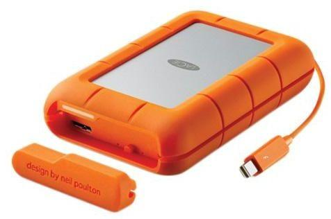 LaCie 4 TB Rugged RAID Thunderbolt & USB 3.0 External Hard Disk Drive - SKU9000601
