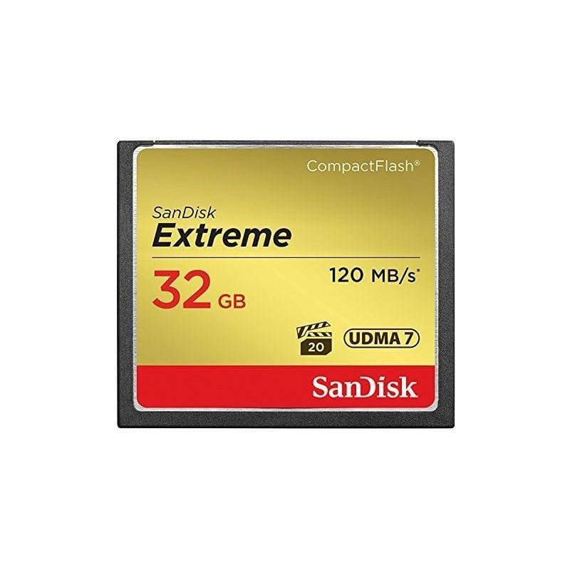 SanDisk 32 GB CF Ultra 120 MB/s Compact Flash Card