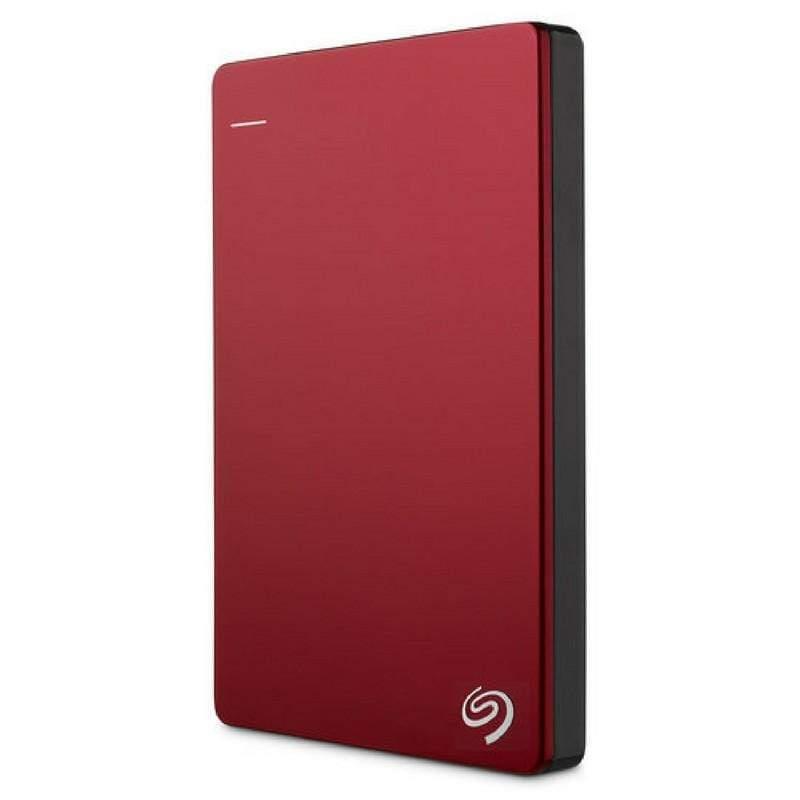 Seagate 2 TB Backup Plus USB 3.0 Slim Portable Hard Drive - Red