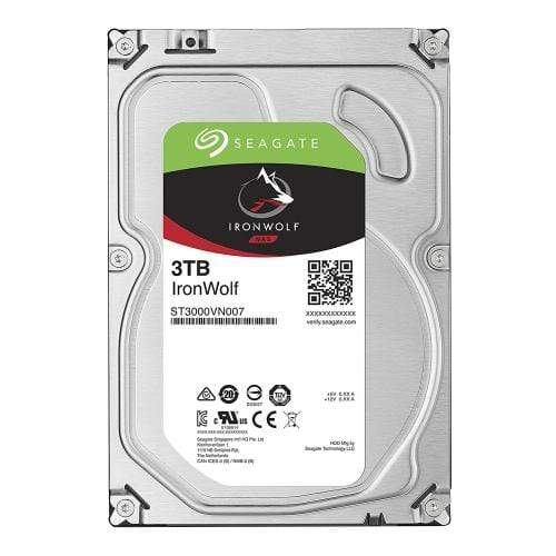 Seagate 3TB IronWolf 3.5-Inch Internal Hard Drive For NAS Drives