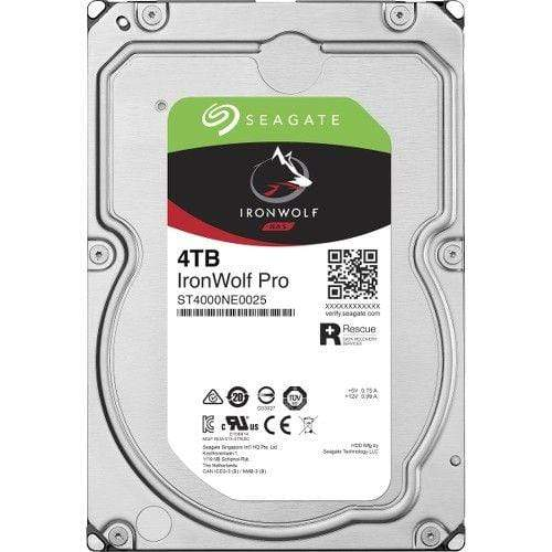 Seagate 4TB IronWolf Pro 3.5-Inch NAS Hard Disk Drive