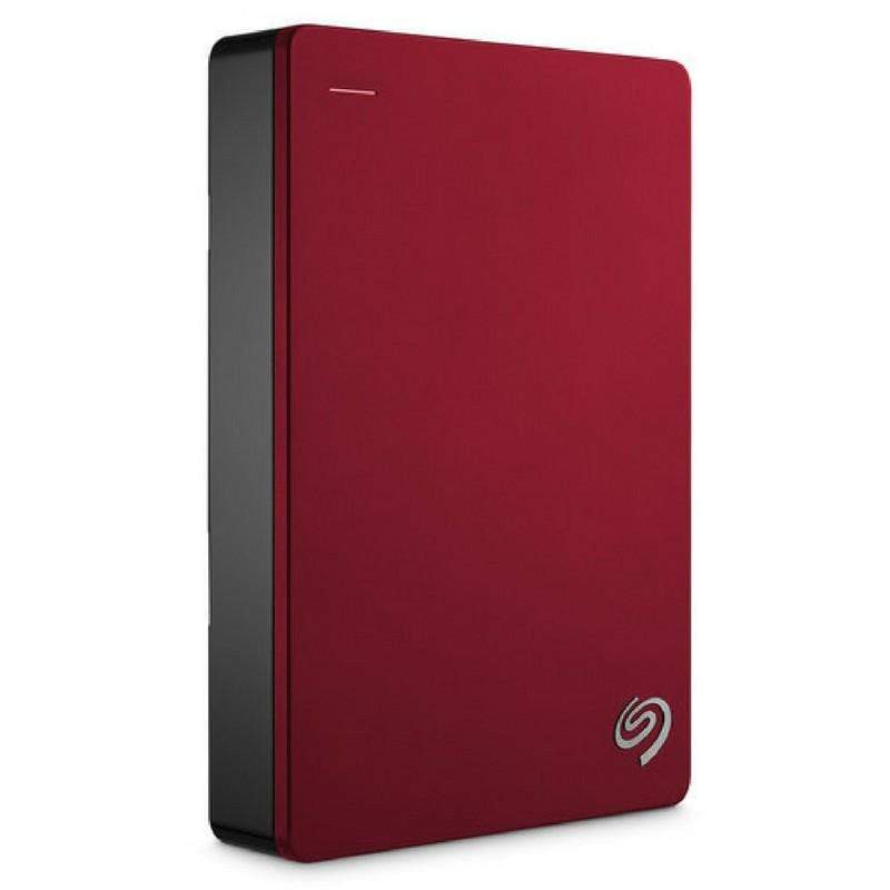 Seagate Backup Plus 4TB Portable External Hard Drive , Red