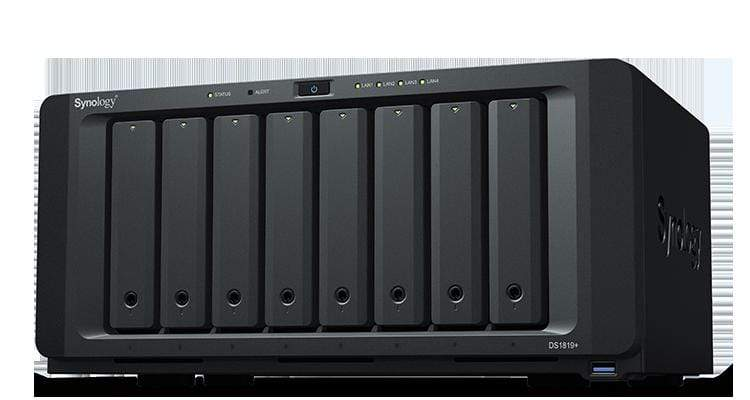 Synology 8 Bay NAS Diskstation Diskless (DS1819+)