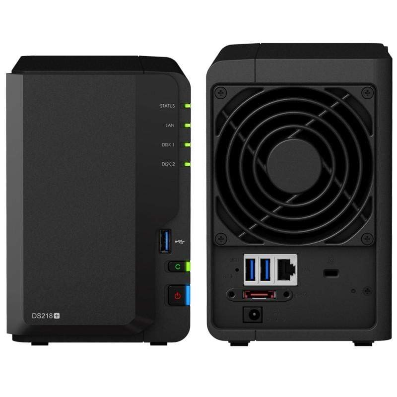 Synology DiskStation DS218+ 2 bay NAS DiskStation