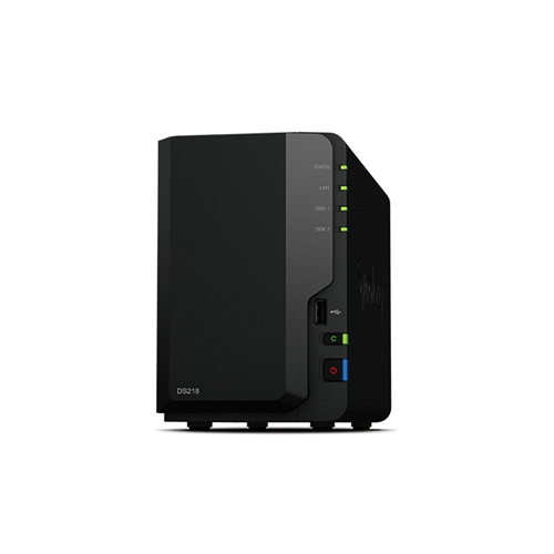 Synology DiskStation DS218 Versatile 2-bay NAS for small offices