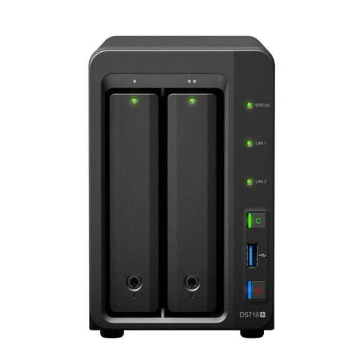 Synology DiskStation DS718+,supports 4K, Online transcoding