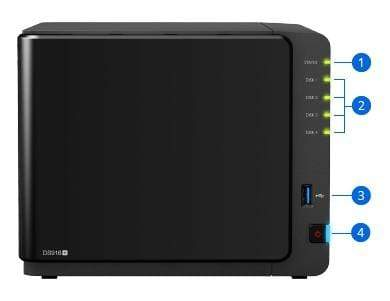 Synology DiskStation DS916+ 4 Bay NAS